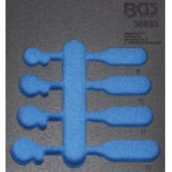Insert de servante d'atelier 1/6, vide pour art. 30833 BGS Technic - 1