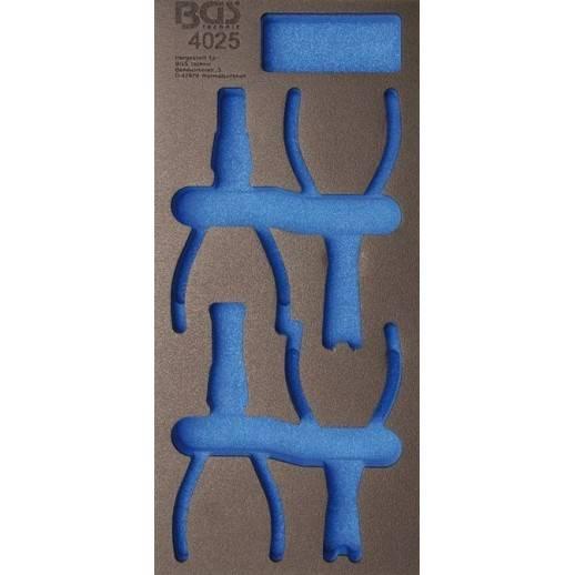 Insert de servante d'atelier 1/3, vide pour art. 4025