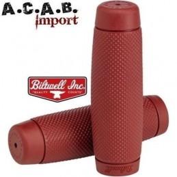 Poignées Biltwell Recoil Grips - Oxblood 1''