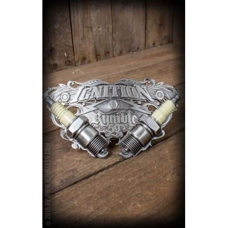 Boucle de ceinture Ignition Marque Rumble 59
