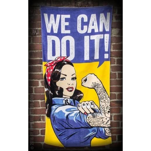Serviette de bain - We can do it-Rumble 59