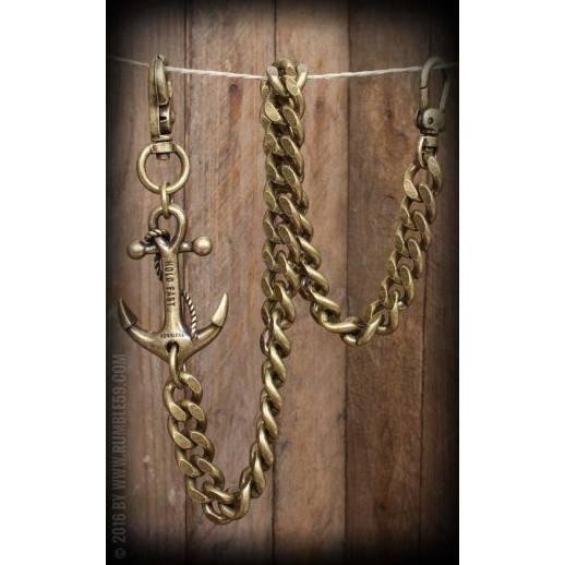 Chaine de portefeuille Let go Anchor Rumble 59