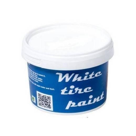 Peinture pneus flancs blancs universelle