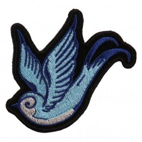 Patch Hot Leathers Hirondelle Bleue