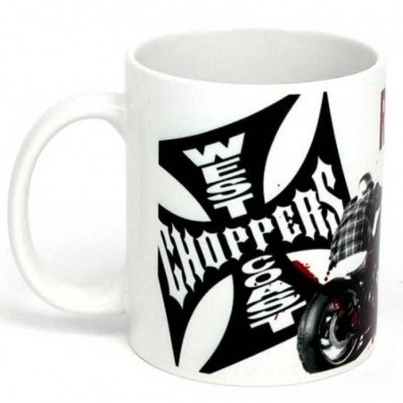 Mug Ride Hard Sucker West Coast Choppers