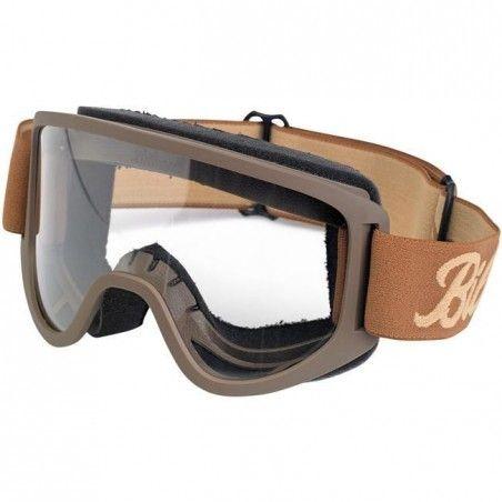 Lunettes Moto 2.0 Biltwell Goggle - Chocolate Sand