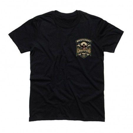 T-shirt noir WEST COAST CHOPPERS Hipster Hunters