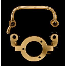 kit support et reniflard Black Duck Parts satin brass Sportster 91 17