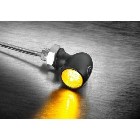 Clignotant à LED Atto Kellermann noir 152.200