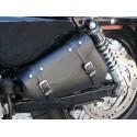 Sacoche latérale cuir pour Sportster Harley Davidson
