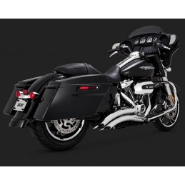 Echappement Vance & Hines Big radius chromé Tourer 2018 26073