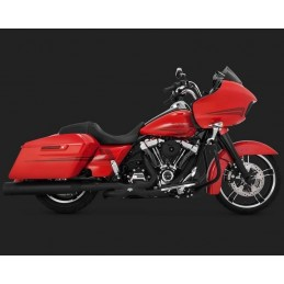 COLLECTEUR VANCE & HINES POWER DUALS TOURER 17UP NOIR 46871│ACAB Import