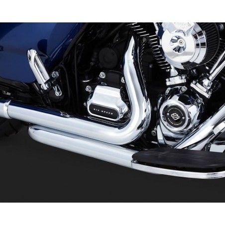 COLLECTEUR VANCE & HINES DRESSER DUALS TOURER 17UP CHROME 17651