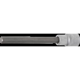 """Douille à embouts, longueur 140 mm, 12,5 mm (1/2"""") six pans intérieurs 10 mm"""