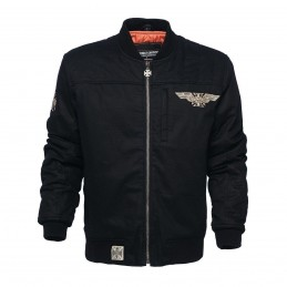Blouson Bomber West Coast Choppers Assault Jacket Black