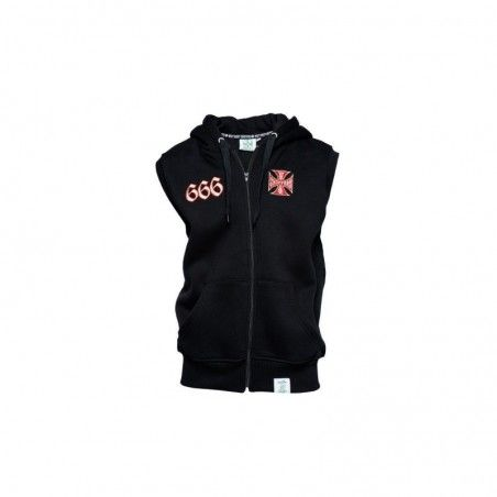 Sweat Hoody WEST COAST CHOPPERS Chapel sans manches