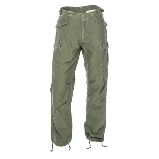 Pantalon West Coast Choppers - WCC - M-65 CARGO PANTS - Army green