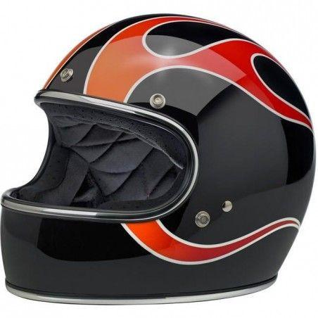 Casque Biltwell Gringo ECE Helmet - DICE Flames