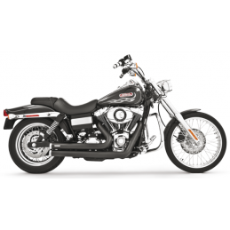 Echappement Freedom Performance Independence Shorty Noir Dyna 06-17