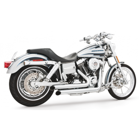 Echappement Freedom Performance Declaration chrome Dyna 06-17