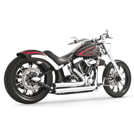 Echappement Freedom Performance Independence Shorty chrome Dyna 06-17