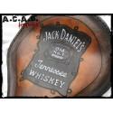 Selle solo marron fauve logo Jack Daniel's
