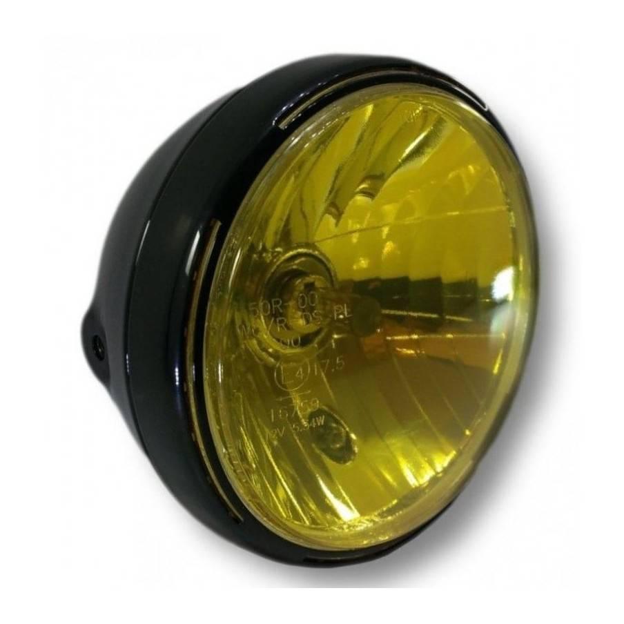 Sticker de phare jaune transparent Haute Résistance