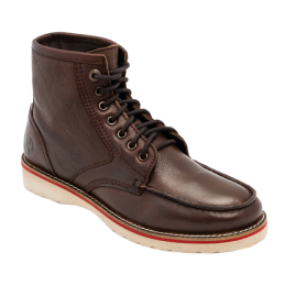 CHAUSSURES JESSE JAMES  STURDY WORKBOOTS MARRON FONCE