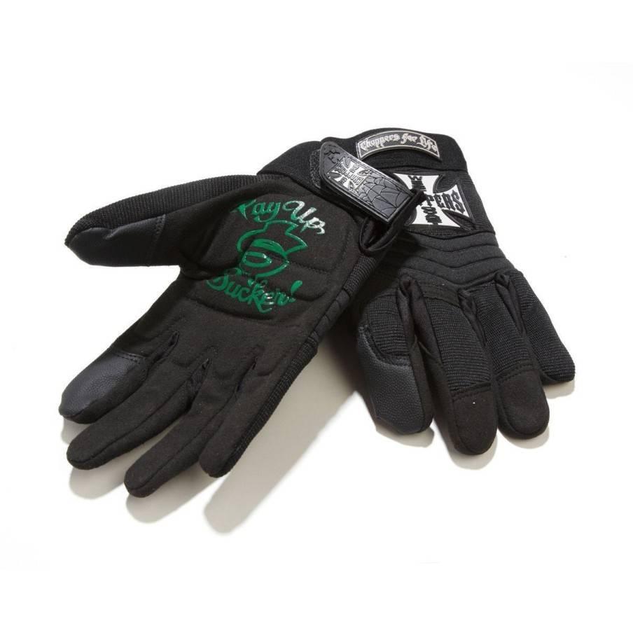 Gants WCC Riding Gloves Black