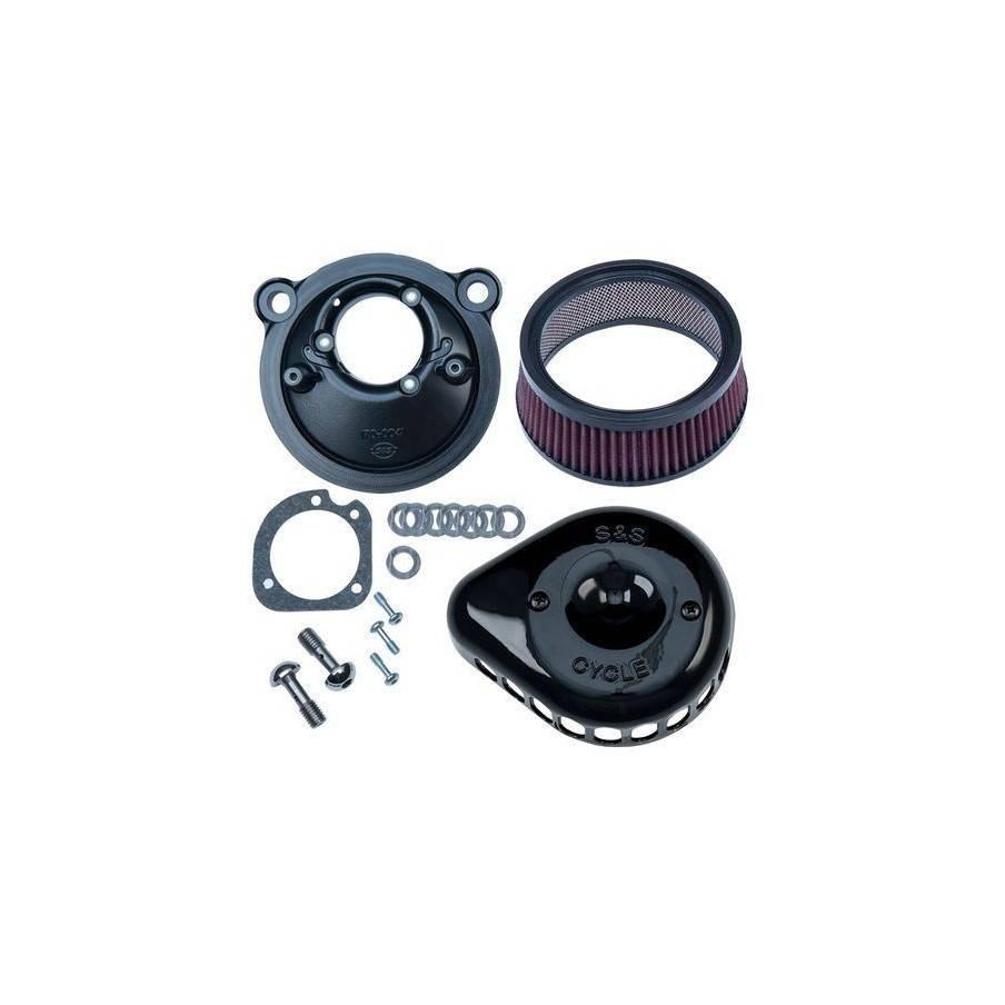 Filtre à Air S&S Mini Teardrop noir pour Sportster 07 Up