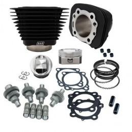 Kit Hooligan 1200cc à 1250cc pour HD ® Sportster® 00-19 Noir