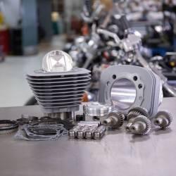 Kit Hooligan 1200cc à 1250cc pour HD ® Sportster® 00-19 Silver