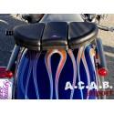 Pouf Butty Buddy version à ventouses moto bobber chopper Zodiac Motorcycle products B.V. - 3