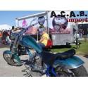 Pouf Butty Buddy version à ventouses moto bobber chopper Zodiac Motorcycle products B.V. - 4