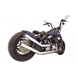 Echappement Freedom Performance Upsweep Star Chrome Softail 86-17