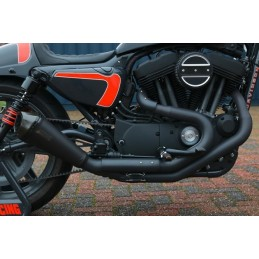 Echappement 2-1 Racing Exhaust Fred Kodlin Euro4 Sportster