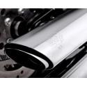 "V&H Twin Slash 3"" 16841 Slip on chrome Softail a partir de 2007 harley custom Vance & Hines - 3"