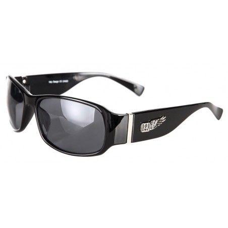 Lunettes de soleil biker monture noire large