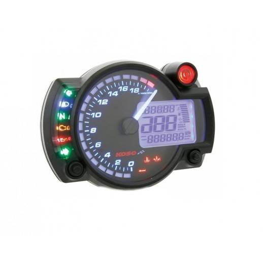 Compteur / Compte-tours KOSO RX2N 18000tr/mn GP STYLE