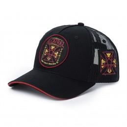 CASQUETTE WCC Black metal trucker hat