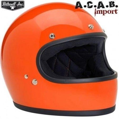 Casque Biltwell Gringo orange
