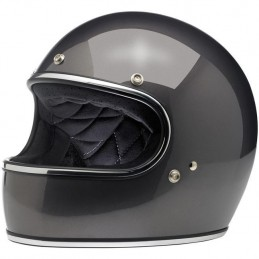 Casque Biltwell Gringo charcoal metallic