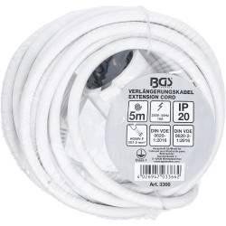 Câble de rallonge   5 m   3 x 1,5 mm²   IP 20