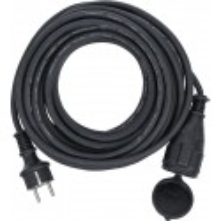 Câble de rallonge | 10 m | 3 x 1,5 mm² | IP 44