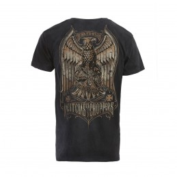 T-shirt WEST COAST CHOPPERS Eagle Crest Tee-Magic Day Blue