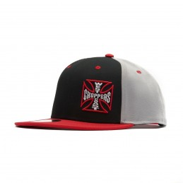 Casquette WCC Ace Snapback Flatbill Hat- Grey/Black/Red