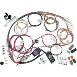 Kit de faisceau de câblage custom complet pour moto