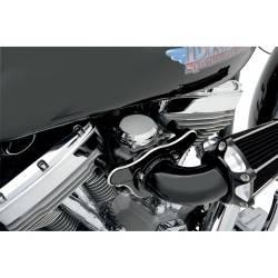 Couvercle de carburateur CV chrome lisse 27040-88 de 88 a 06