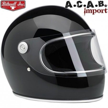 Casque Biltwell Gringo S gloss black