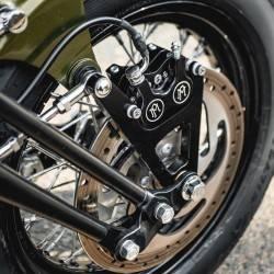 Etrier de frein avant 125x4S Performance Machine contrast cut pour fourche springer coté droit